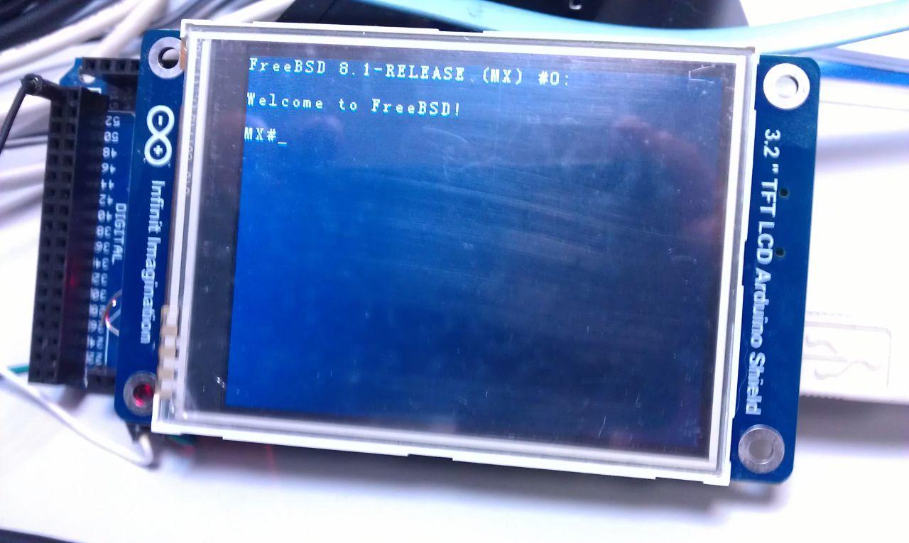 Arduino+TFT as vt100 terminal: ua9uqb — LiveJournal