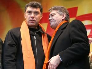 Немцов и Ющенко