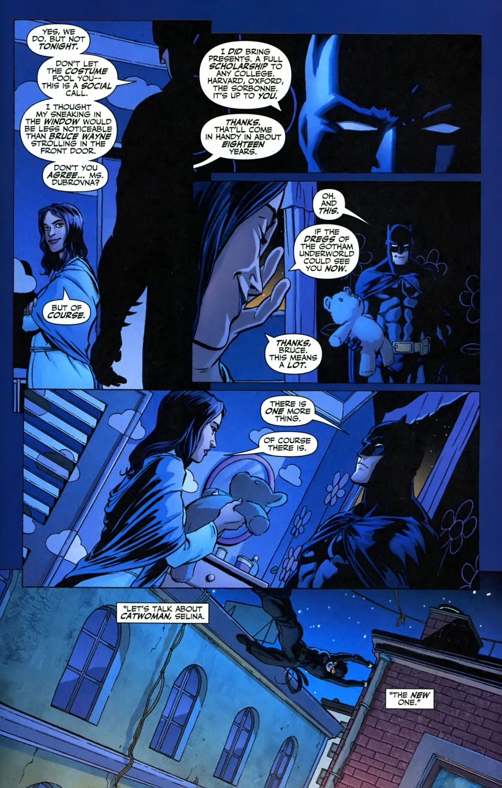 Alley cat catwoman batman - 3 part 6