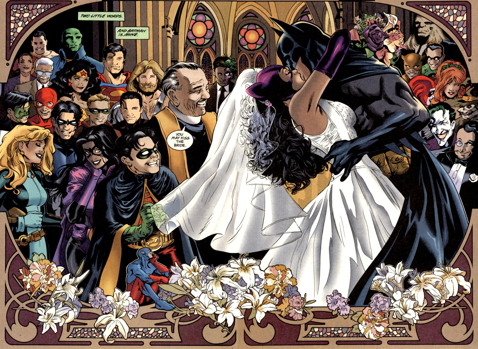 Scansdaily Batcat Wedding