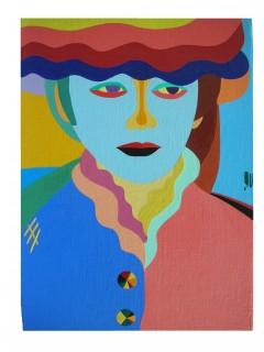 Impressionistic woman