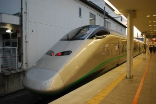 Shinkansen is the only way to go