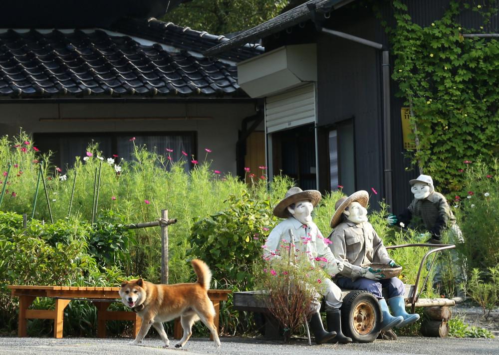 Деревня пугал в Японии7