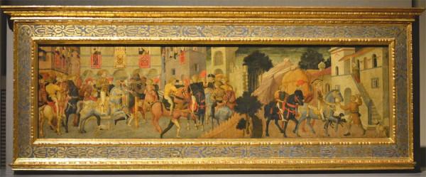 Живопись на свадебных сундуках-кассоне, XV век