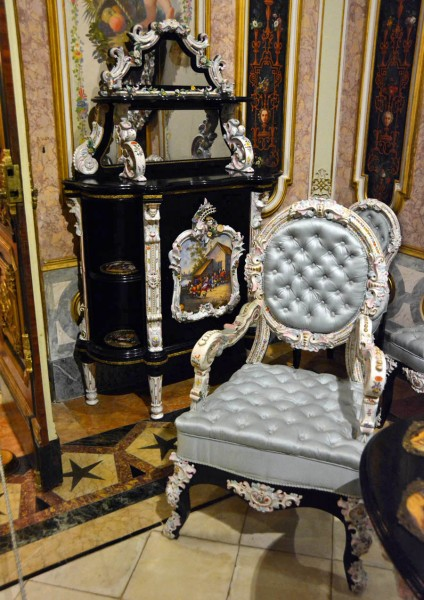 Дворец маркизов Дос Агуас , Валенсия. Интерьер