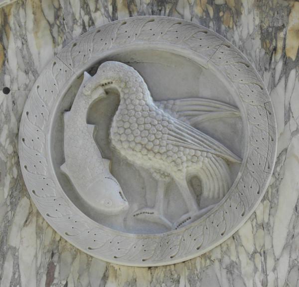 Патера - венецианский круглый рельеф