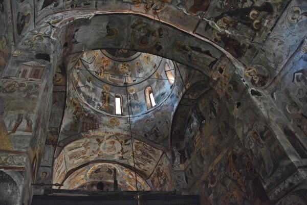 Македония - 4. Монастырь Трескавец, часть 2. Интерьер