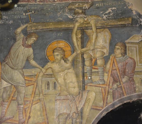 Несколько фрагментов фресок церкви Св. Николая Орфаноса, Салоники