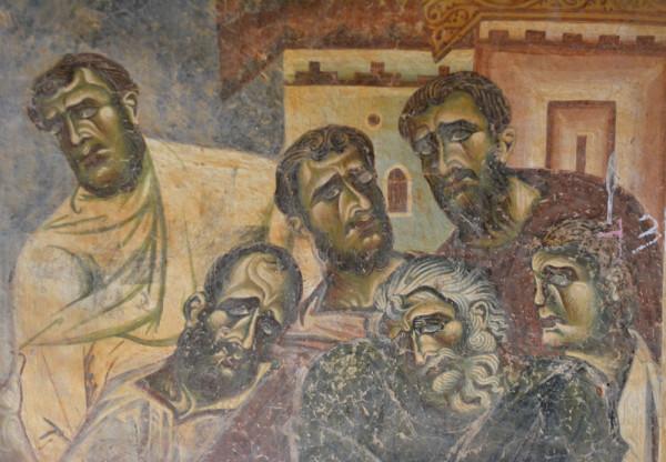 Македония-5. Курбиново, фрески XII в.