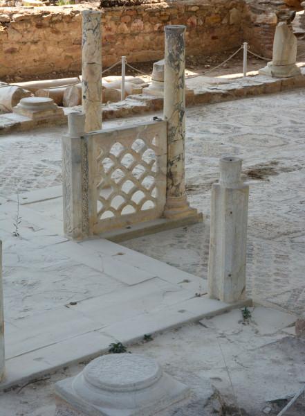 Руины Базилики Софрониос, V в., Ситония (Никити), Греция