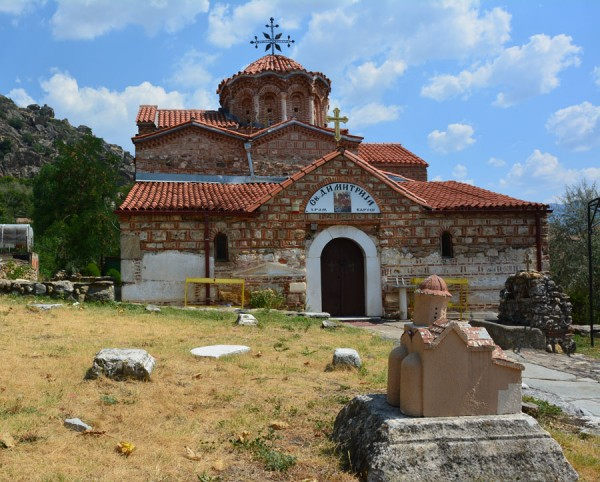 Македония-8. Прилеп, Варош - часть 2. Церковь Св. Дмитрия
