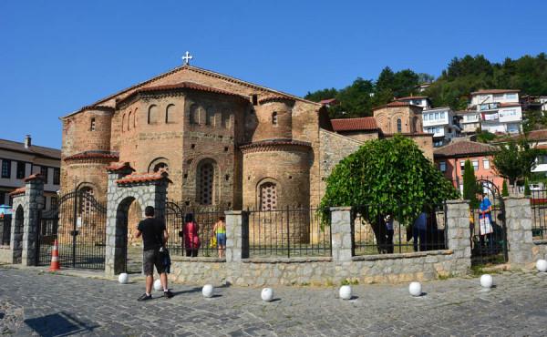 Македония-11. Охрид, Собор Святой Софии-2