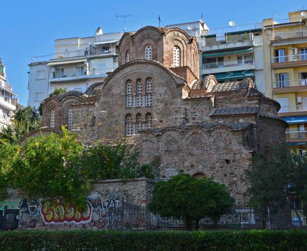 Церковь Святого Пантелеймона, XIII в., Салоники