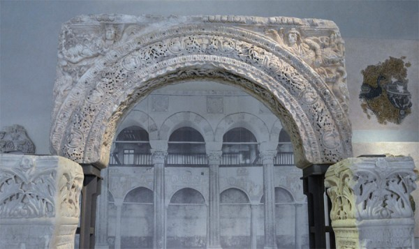 Рельефы из Музея византийской культуры, Салоники
