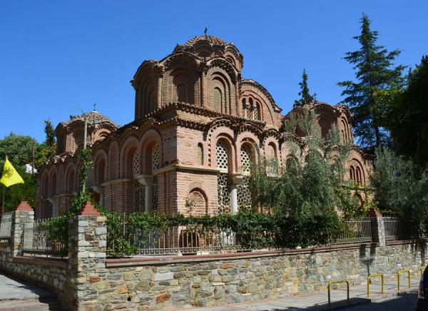 Церковь Святой Екатерины, XIII – XIV вв., Салоники