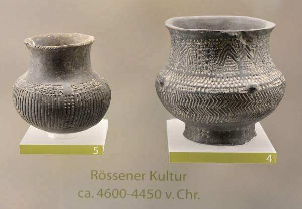 Очень древняя керамика из Мерзебургского музея