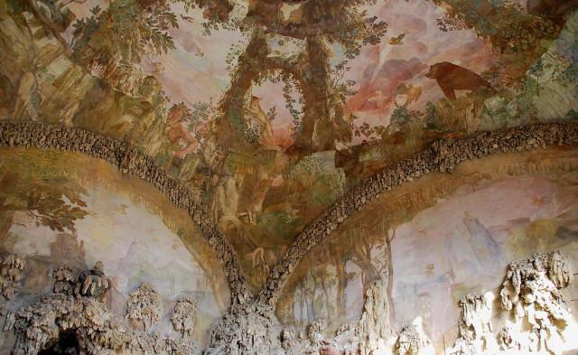 Грот Буонталенти. Флоренция, XVI век. Удивительное место!