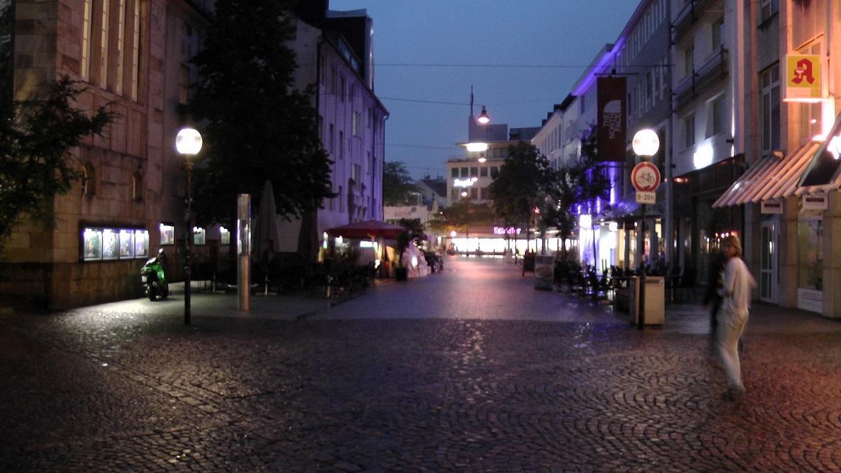 германия город пуст