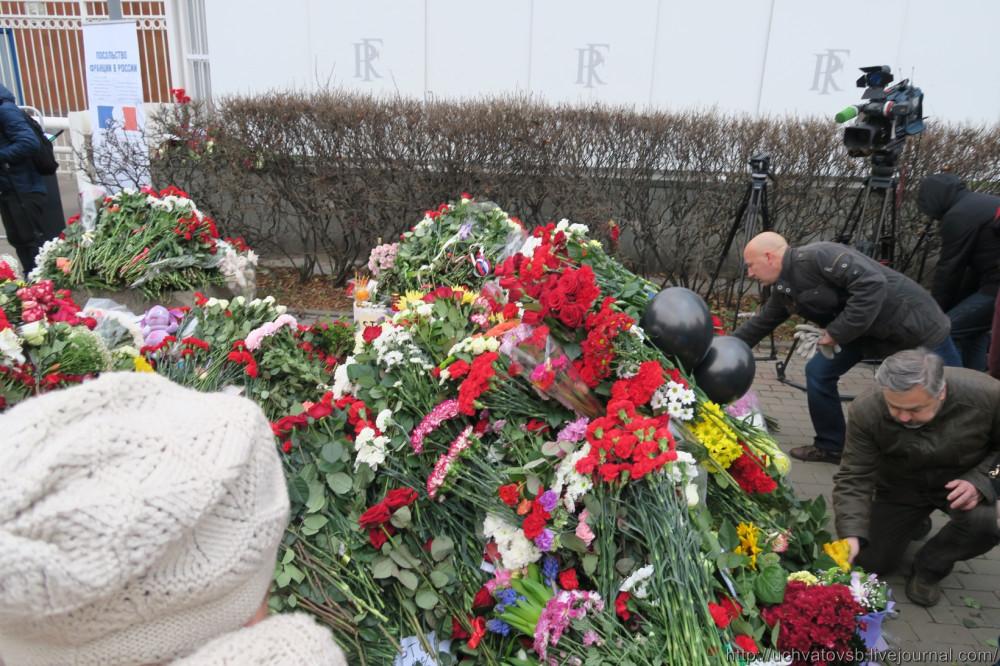 {Москва - Французское посольство 14 июня 2015 года }-11