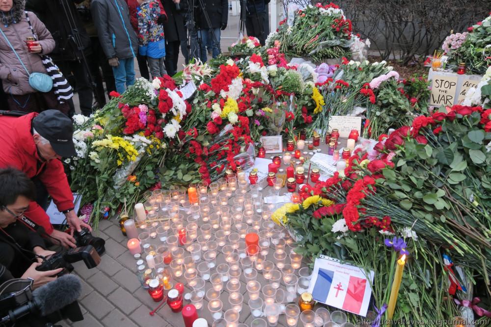 {Москва - Французское посольство 14 июня 2015 года }-13