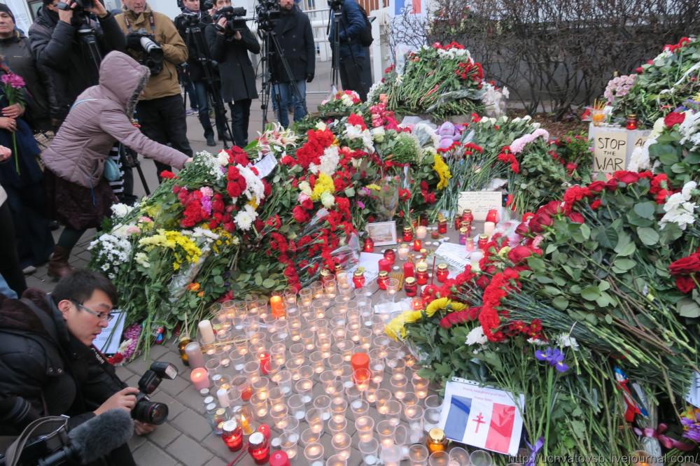 {Москва - Французское посольство 14 июня 2015 года }-16