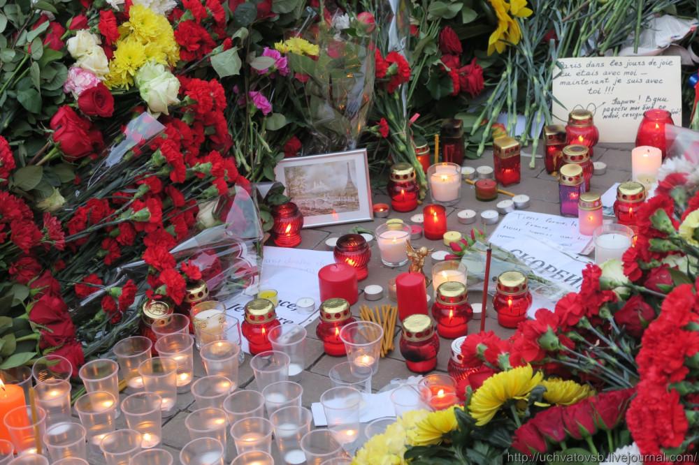 {Москва - Французское посольство 14 июня 2015 года }-17