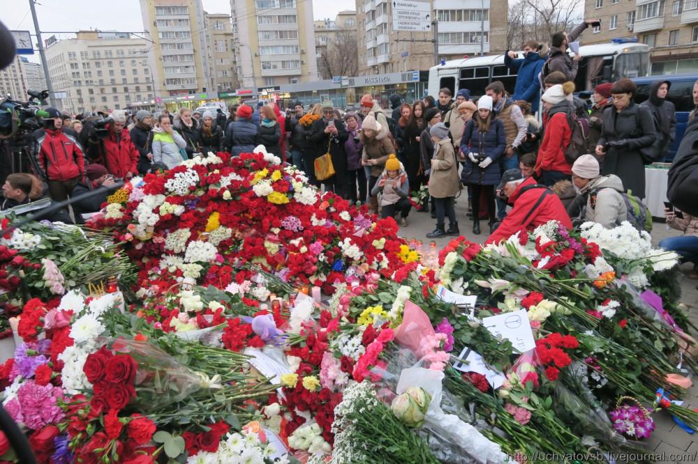 {Москва - Французское посольство 14 июня 2015 года }-35