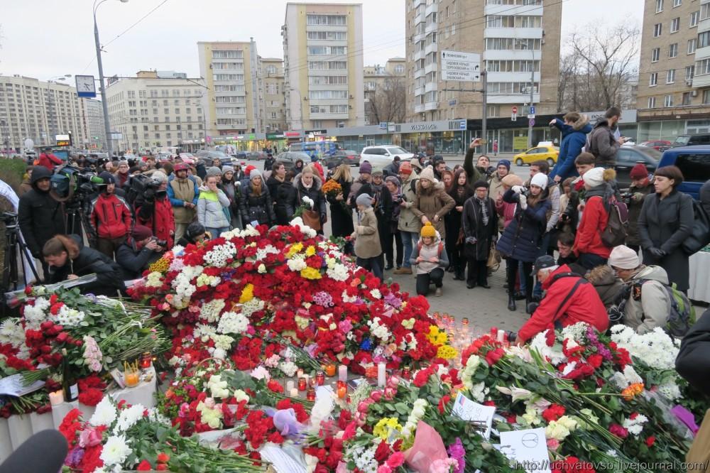 {Москва - Французское посольство 14 июня 2015 года }-36