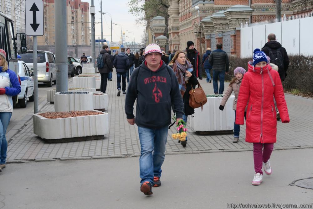 {Москва - Французское посольство 14 июня 2015 года }-43