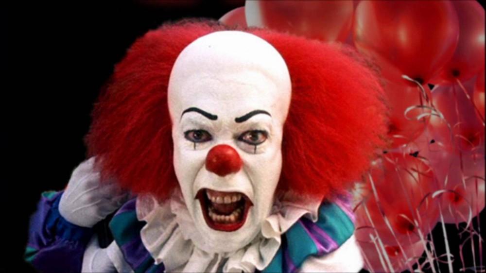 страшный клоун из фильма оно