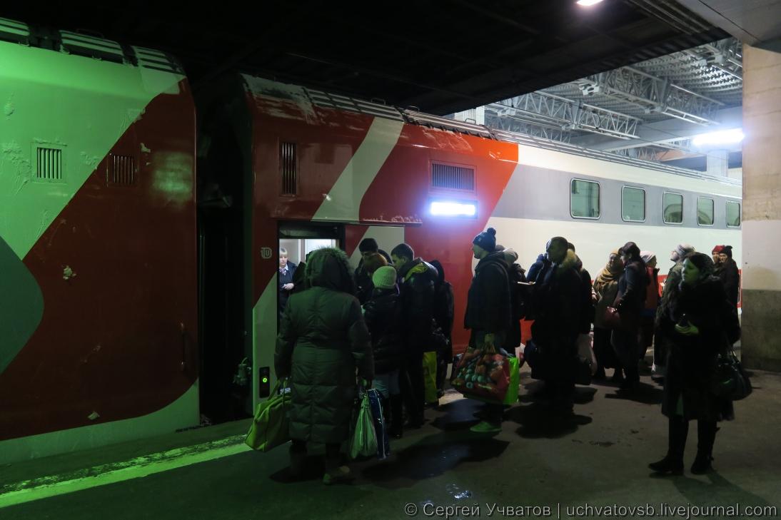 {едем в Саранск на двухэтажном поезде}-1