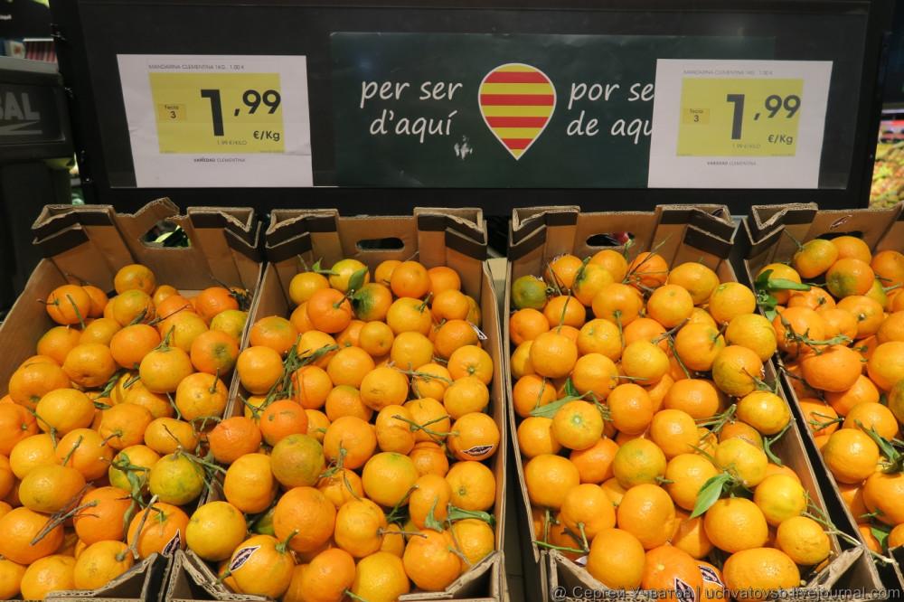 {цены в магазинах Испании}-3