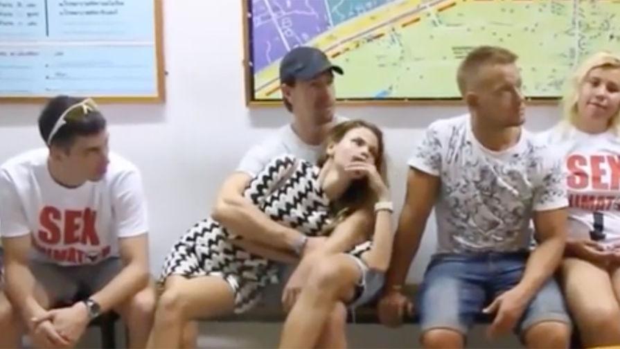 Секс свои свинчены россия