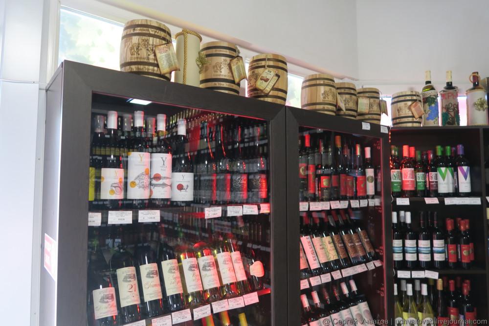 сколько стоит крымское и другое вино и алкоголь в крыму - 4