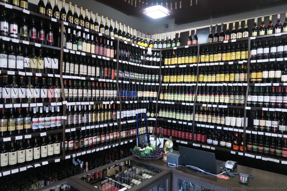 сколько стоит крымское и другое вино и алкоголь в крыму - 3