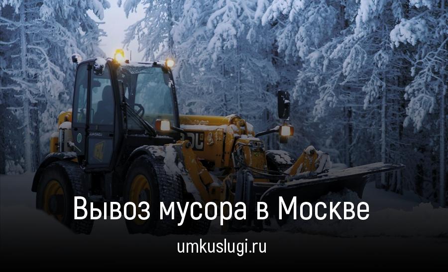 Вывоз мусора и снега в Москве