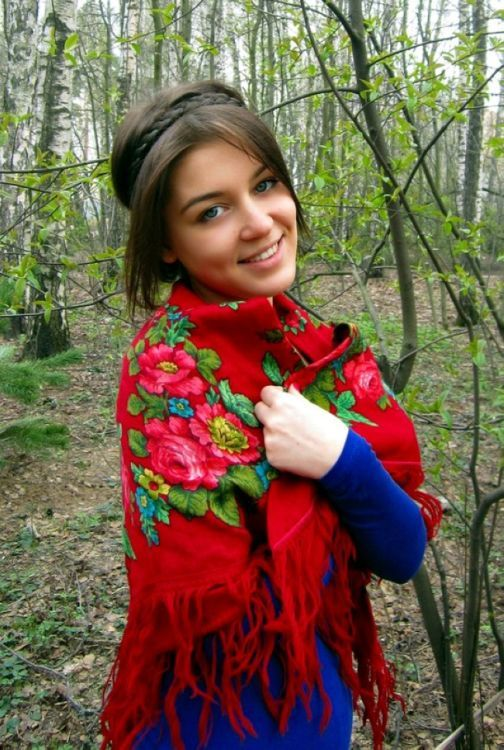 Красивые русские девушки из сказок