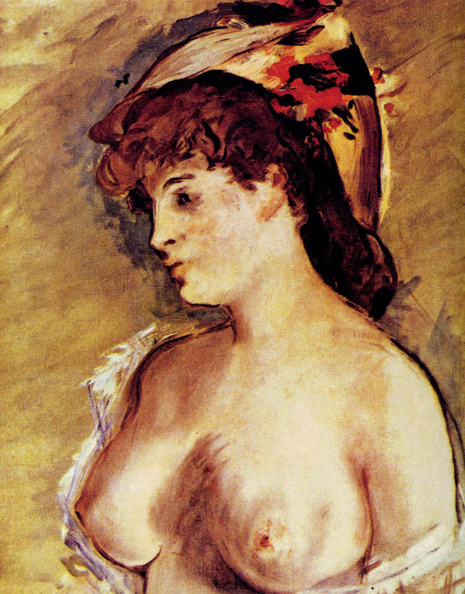 Эдуард Мане – Блондинка с обнаженной грудью