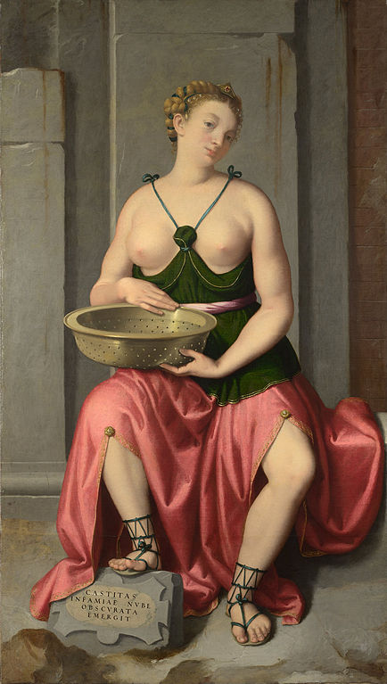 Giovanni Battista Moroni — The Vestal Virgin Tuccia