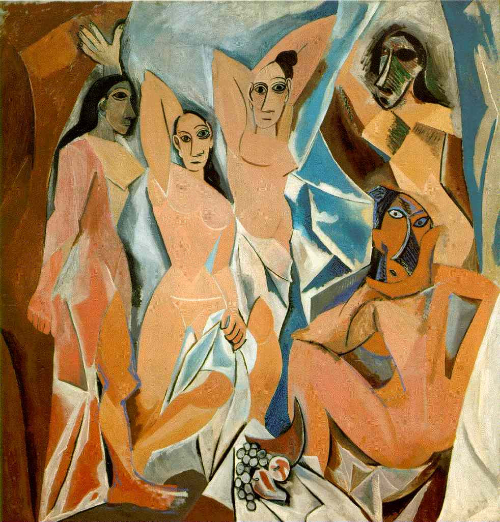 Пабло Пикассо — Авиньонские девицы