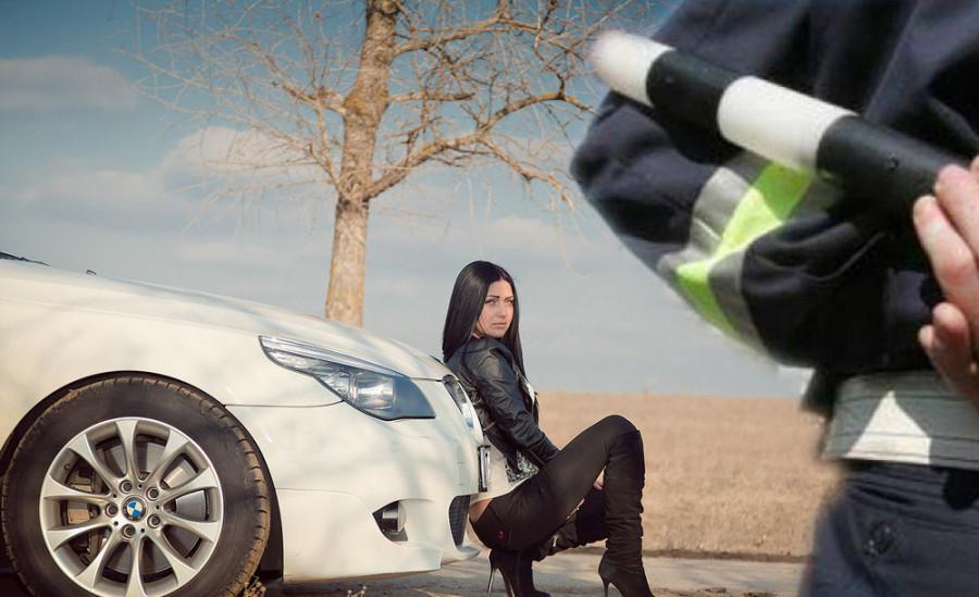 женщина-за-рулём