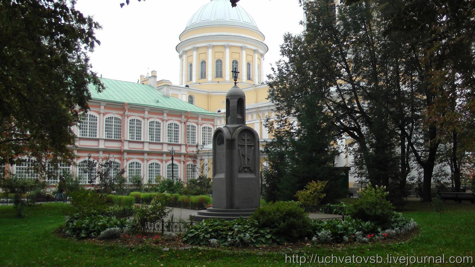 {Никольское кладбище в Санкт-Петербурге и Лавра}-10