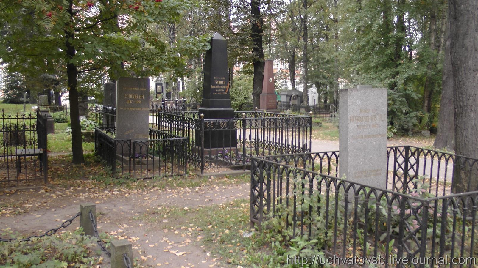 {Никольское кладбище в Санкт-Петербурге и Лавра}-12