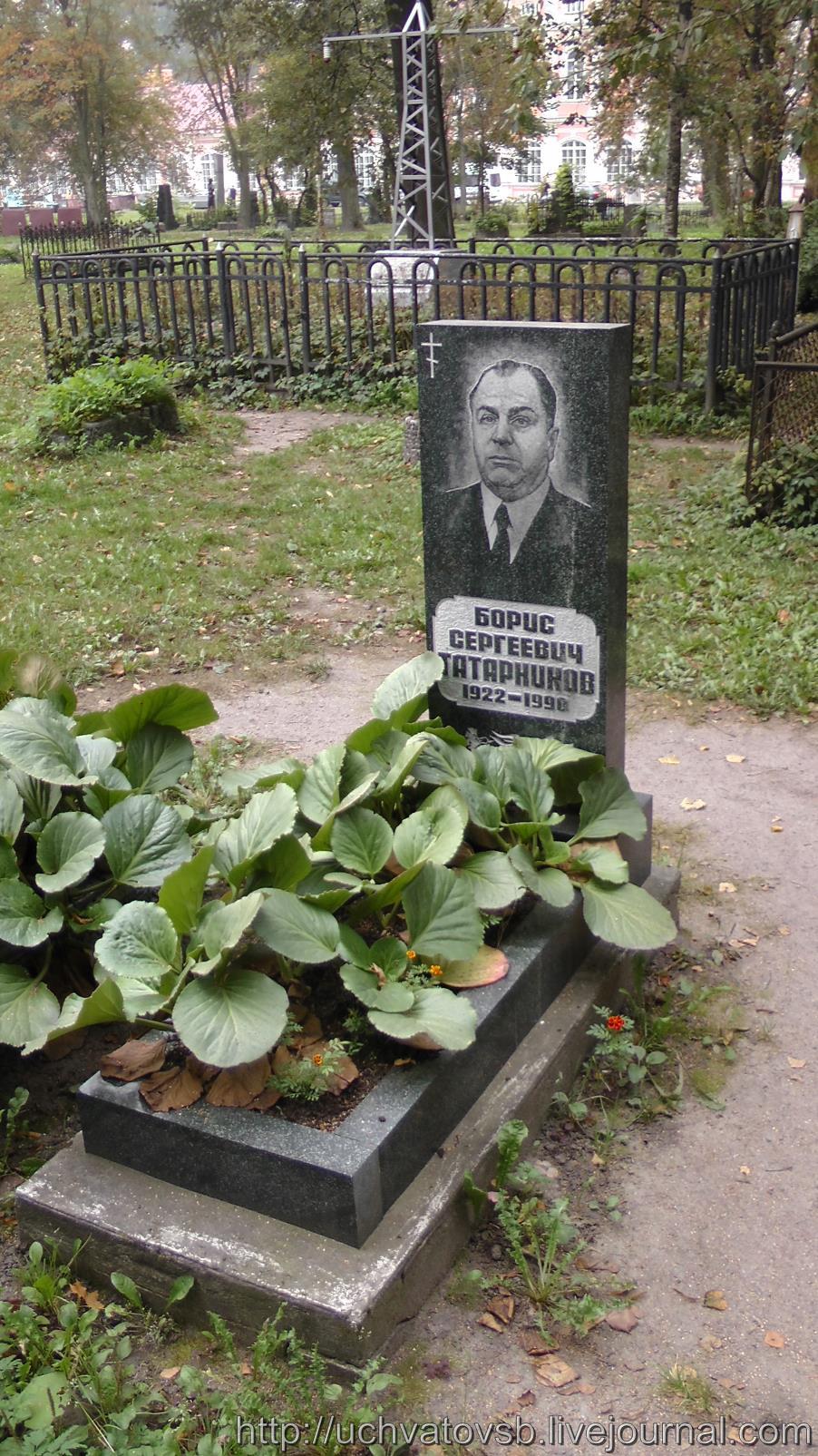 {Никольское кладбище в Санкт-Петербурге и Лавра}-15