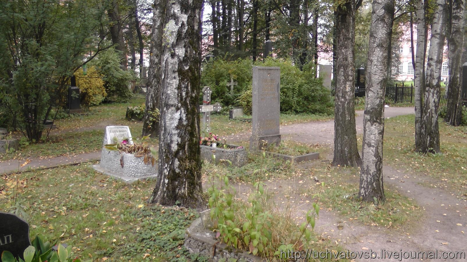 {Никольское кладбище в Санкт-Петербурге и Лавра}-21