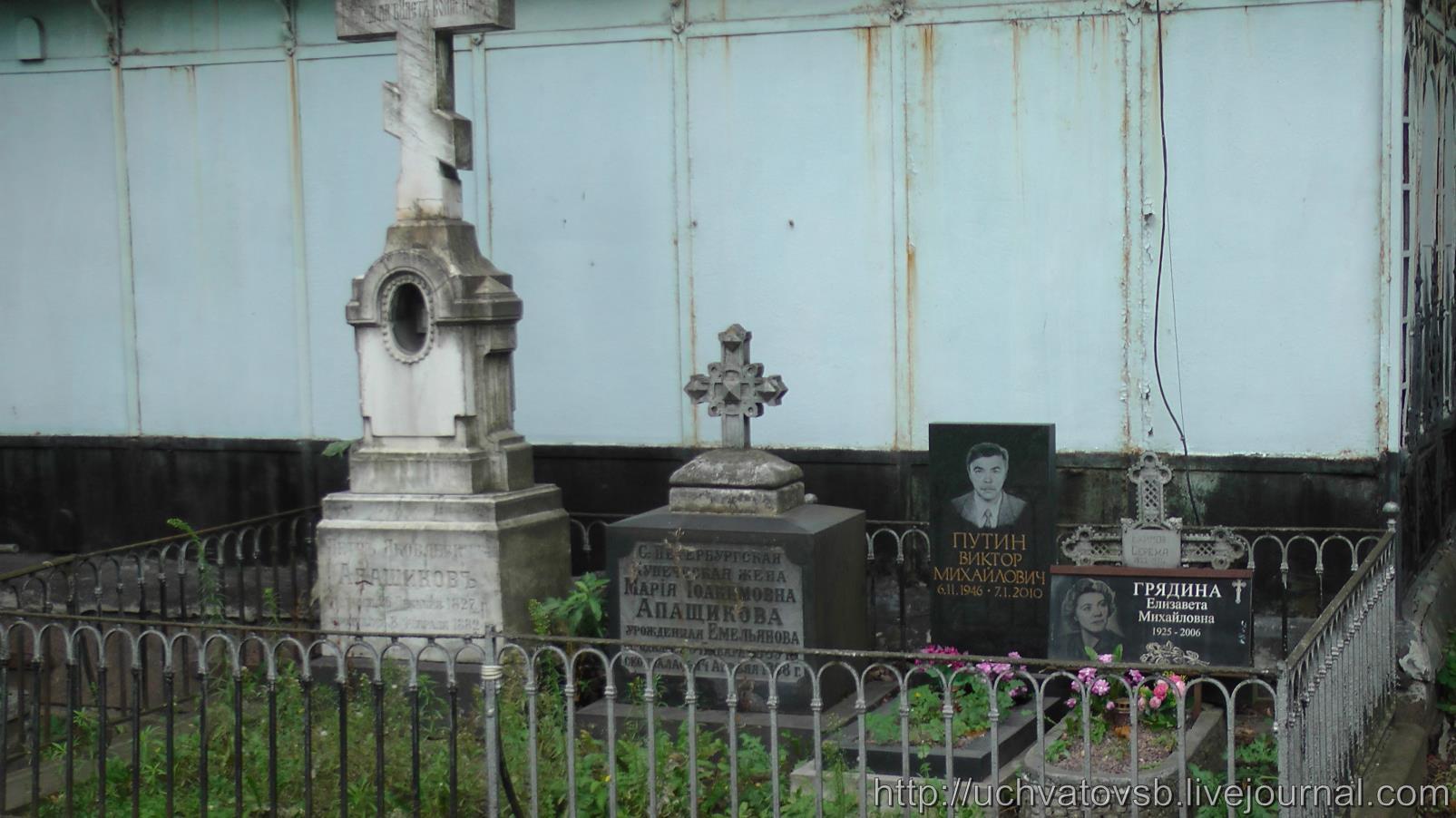 {Никольское кладбище в Санкт-Петербурге и Лавра}-55