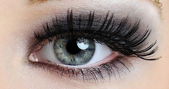 серо голубые глаза