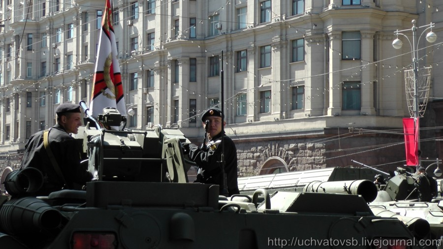 {Москва - репетиция парада победы 2015}-66