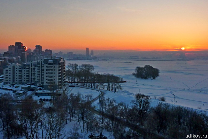 Рассвет над Казанкой