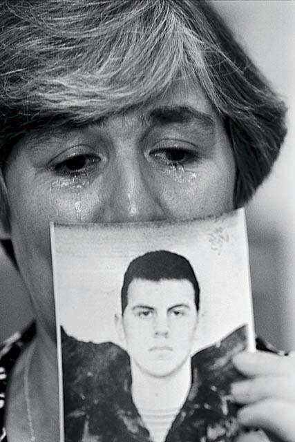 любовь тумаева из Нижнего Новгорода рассказывает о ее сыне Сергее побигшем в чеченскую компанию 1997